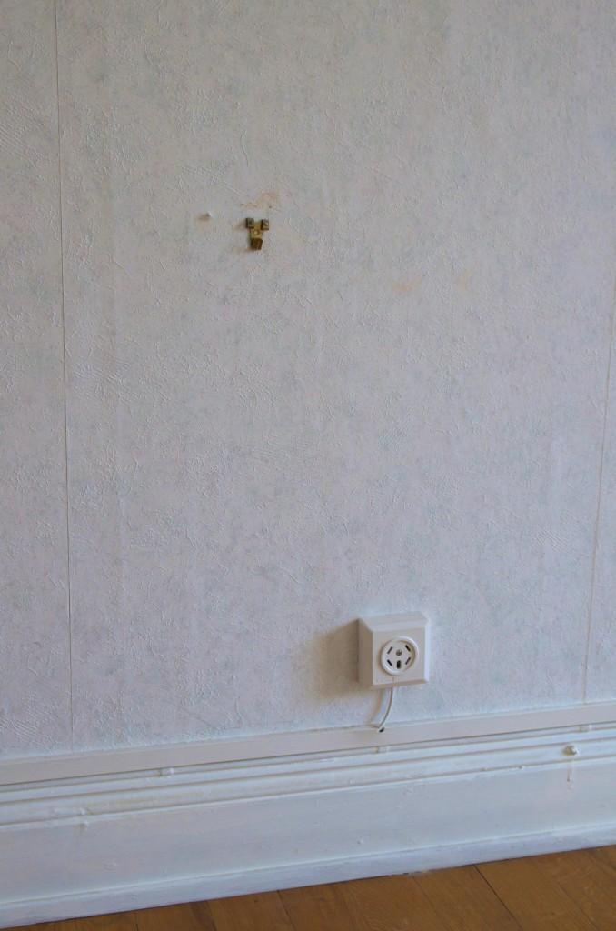 """""""Kroken blev kvar bakom soffan, minns inte vad vi hade på den från början"""""""