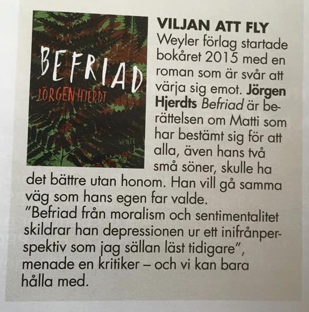 Femina, Befriad, Jörgen Hjerdt