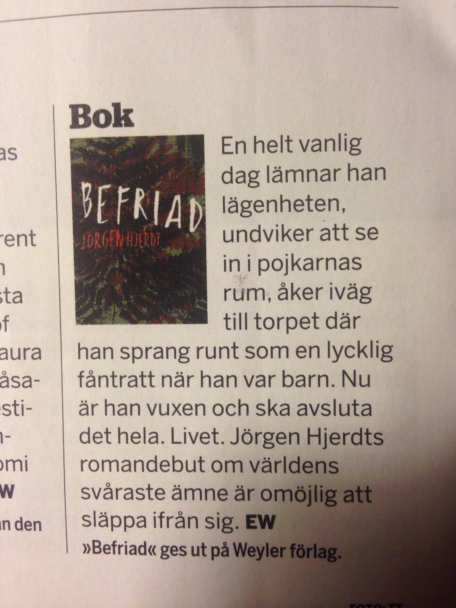 Fokus - Jörgen Hjerdt - Befriad