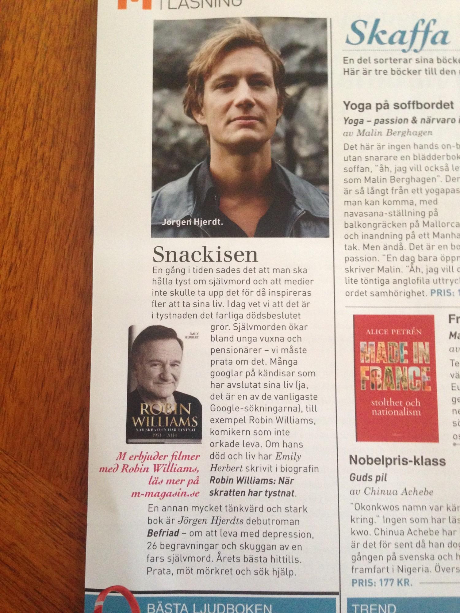 Befriad, Jörgen Hjerdt, M Magasin