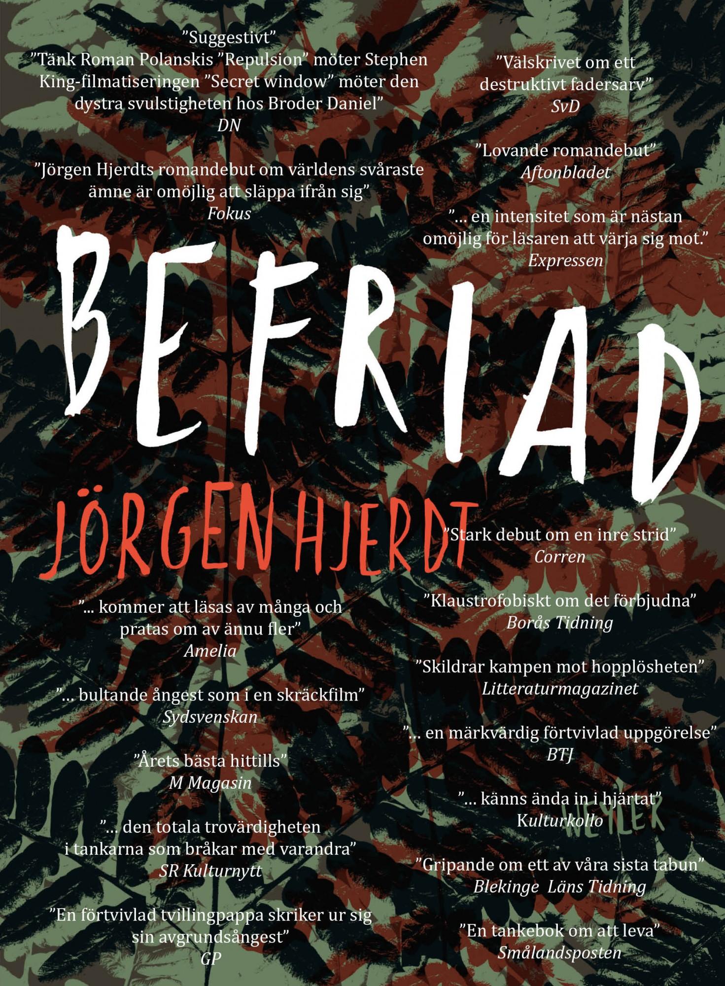 Jörgen Hjerdt, Befriad, pressklipp, recensioner